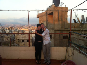 Erin and Peter, Lebanon, 2012