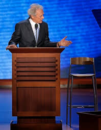 Clint Eastwood debating Dan Ruberti
